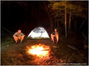 Camping/Shoals access
